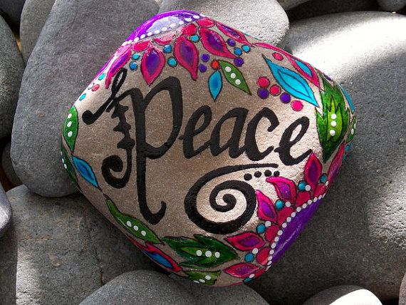 Peace Rock \ www.heatherblaise.com
